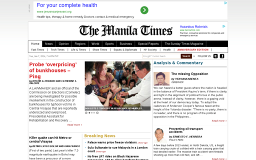Access manilatimes.net using Hola Unblocker web proxy