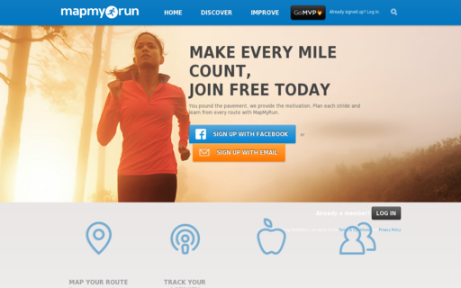 Access mapmyrun.com using Hola Unblocker web proxy