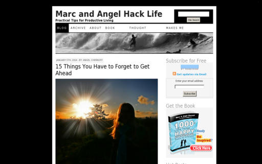 Access marcandangel.com using Hola Unblocker web proxy