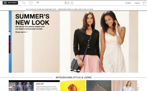 Access marksandspencer.com using Hola Unblocker web proxy