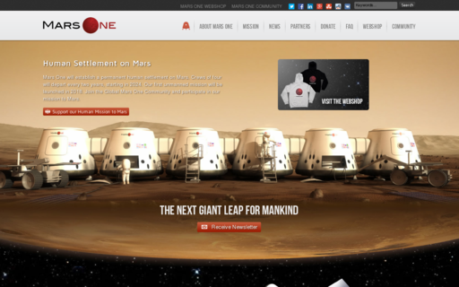 Access mars-one.com using Hola Unblocker web proxy