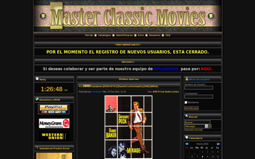 Access masterclassicmovies.com using Hola Unblocker web proxy
