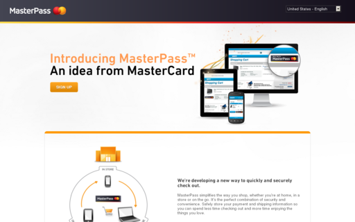 Access masterpass.com using Hola Unblocker web proxy