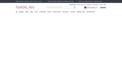 Access matalan.co.uk using Hola Unblocker web proxy