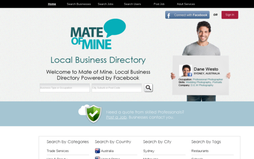 Access mateofmine.com using Hola Unblocker web proxy
