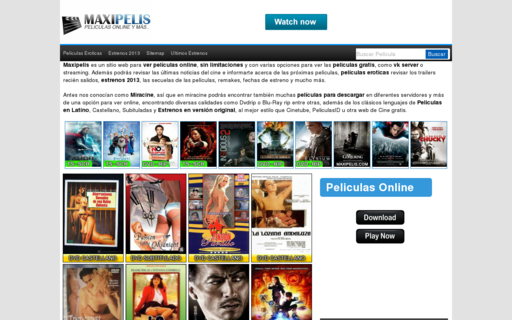 Access maxipelis.com using Hola Unblocker web proxy