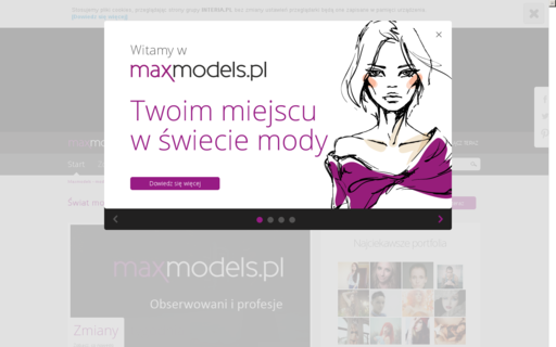 Access maxmodels.pl using Hola Unblocker web proxy