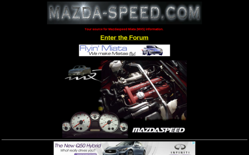 Access mazda-speed.com using Hola Unblocker web proxy