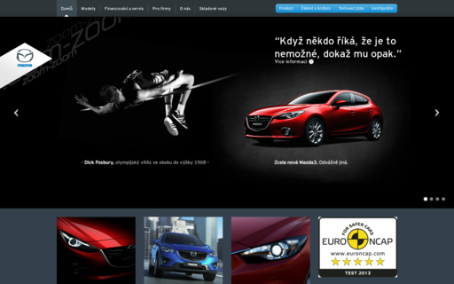 Access mazda.cz using Hola Unblocker web proxy