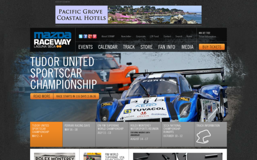 Access mazdaraceway.com using Hola Unblocker web proxy