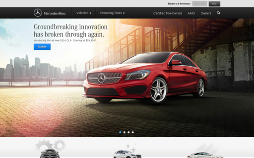 Access mbusa.com using Hola Unblocker web proxy
