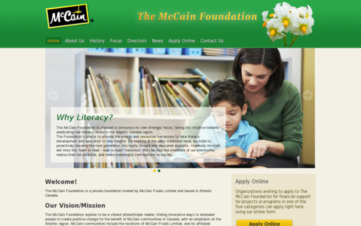 Access mccainfoundation.org using Hola Unblocker web proxy