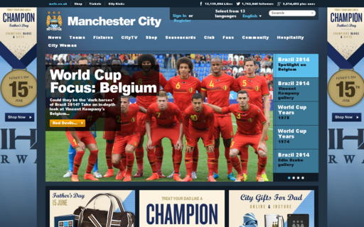 Access mcfc.co.uk using Hola Unblocker web proxy