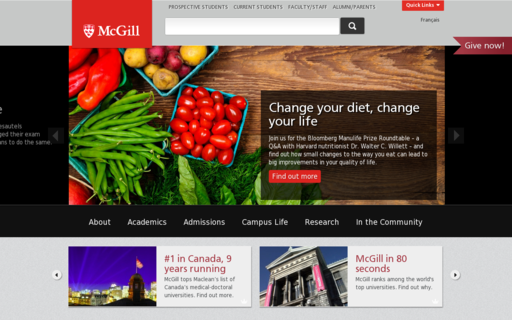 Access mcgill.ca using Hola Unblocker web proxy