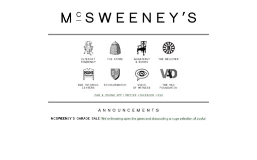 Access mcsweeneys.net using Hola Unblocker web proxy