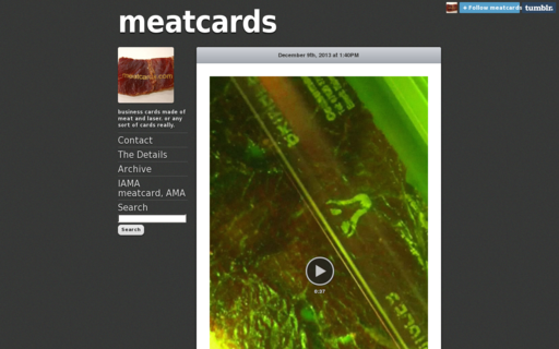 Access meatcards.com using Hola Unblocker web proxy