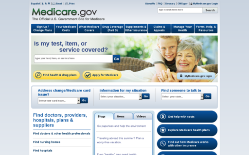 Access medicare.gov using Hola Unblocker web proxy
