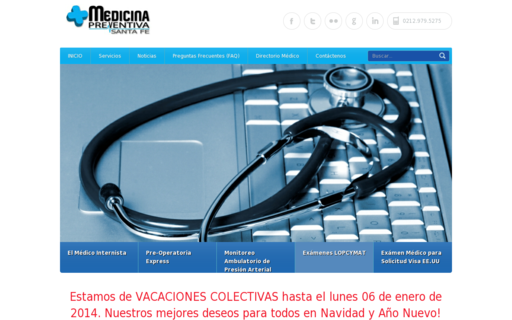 Access medicinapreventiva.info using Hola Unblocker web proxy