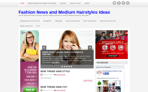 Access mediumhairstylesz.com using Hola Unblocker web proxy