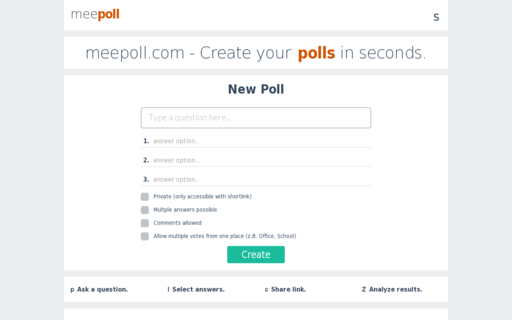 Access meepoll.com using Hola Unblocker web proxy