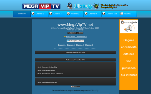 Access megaviptv.net using Hola Unblocker web proxy