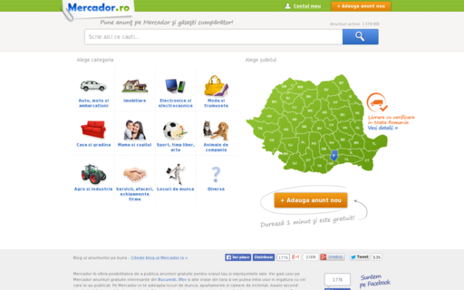 Access mercador.ro using Hola Unblocker web proxy