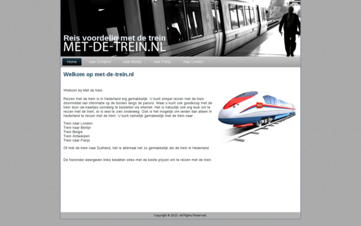 Access met-de-trein.nl using Hola Unblocker web proxy