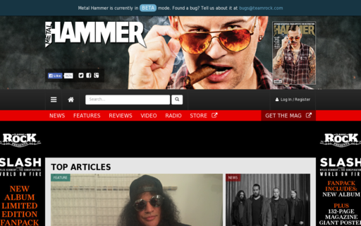 Access metalhammer.co.uk using Hola Unblocker web proxy
