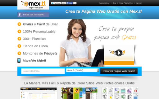 Access mex.tl using Hola Unblocker web proxy