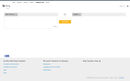 Access microsofttranslator.com using Hola Unblocker web proxy