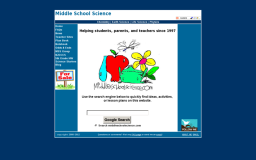 Access middleschoolscience.com using Hola Unblocker web proxy