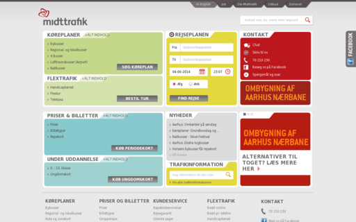 Access midttrafik.dk using Hola Unblocker web proxy