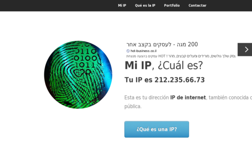Access miip.es using Hola Unblocker web proxy