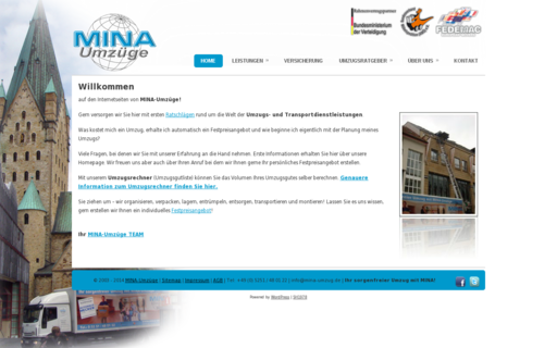 Access mina-umzug.de using Hola Unblocker web proxy