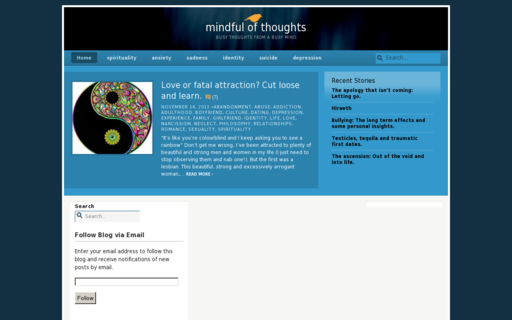 Access mindfulofthoughts.com using Hola Unblocker web proxy
