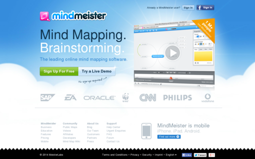 Access mindmeister.com using Hola Unblocker web proxy