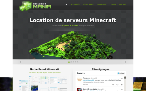 Access minecraft-mania.fr using Hola Unblocker web proxy
