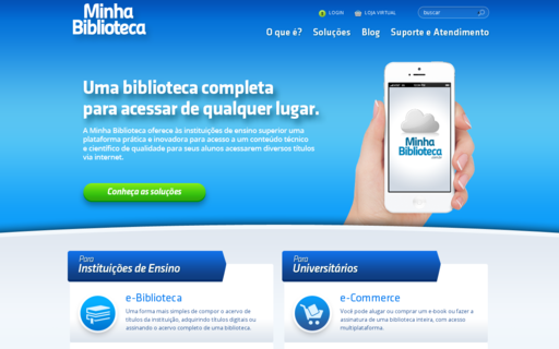 Access minhabiblioteca.com.br using Hola Unblocker web proxy