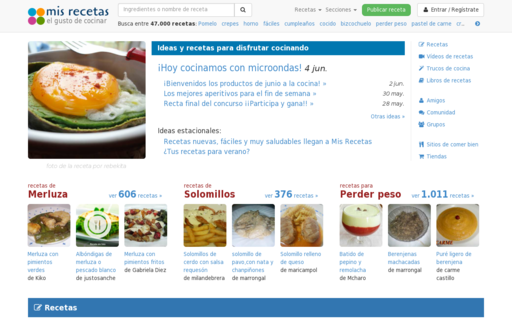 Access mis-recetas.org using Hola Unblocker web proxy