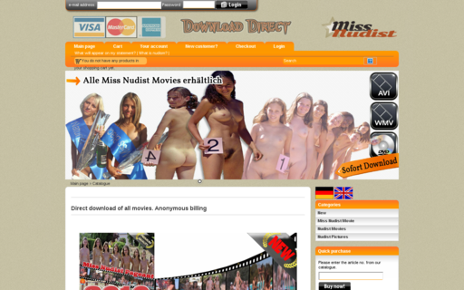 Access miss-nudist.com using Hola Unblocker web proxy