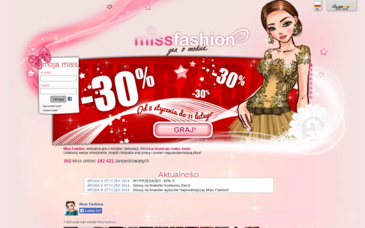 Access missfashion.pl using Hola Unblocker web proxy