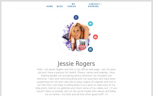 Access missjessierogers.com using Hola Unblocker web proxy
