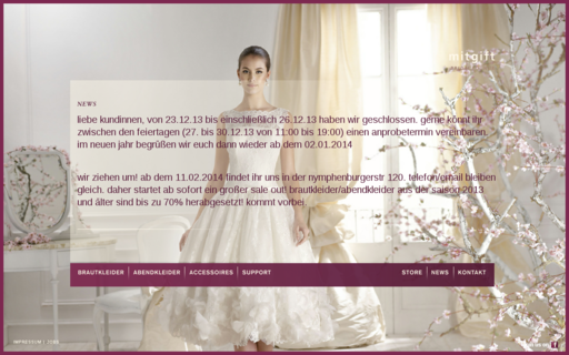 Access mitgift-bridal-lounge.de using Hola Unblocker web proxy