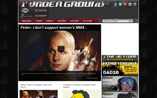 Access mixedmartialarts.com using Hola Unblocker web proxy
