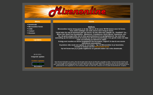 Access mixenonline.nl using Hola Unblocker web proxy