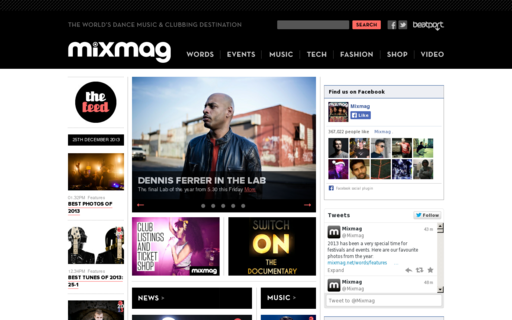 Access mixmag.net using Hola Unblocker web proxy