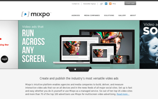 Access mixpo.com using Hola Unblocker web proxy