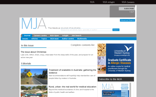 Access mja.com.au using Hola Unblocker web proxy