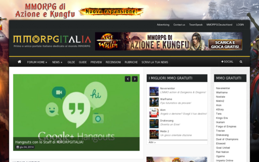 Access mmorpgitalia.it using Hola Unblocker web proxy