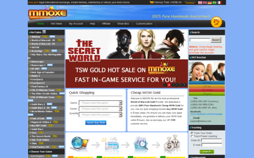 Access mmoxe.com using Hola Unblocker web proxy